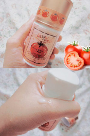 Отзыв Skinfood tomato whitening cream