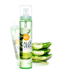 WELCOS Aloe Vera Moisture Real Soothing Gel Mist