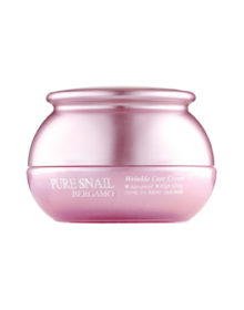 Улиточный крем BERGAMO Pure Snail Wrinkle Care Cream