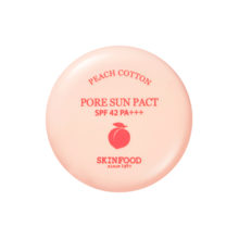 Пудра SKINFOOD Peach Cotton Pore Sun Pact