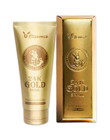 ELIZAVECCA 24k Gold Snail Foam Cleansing